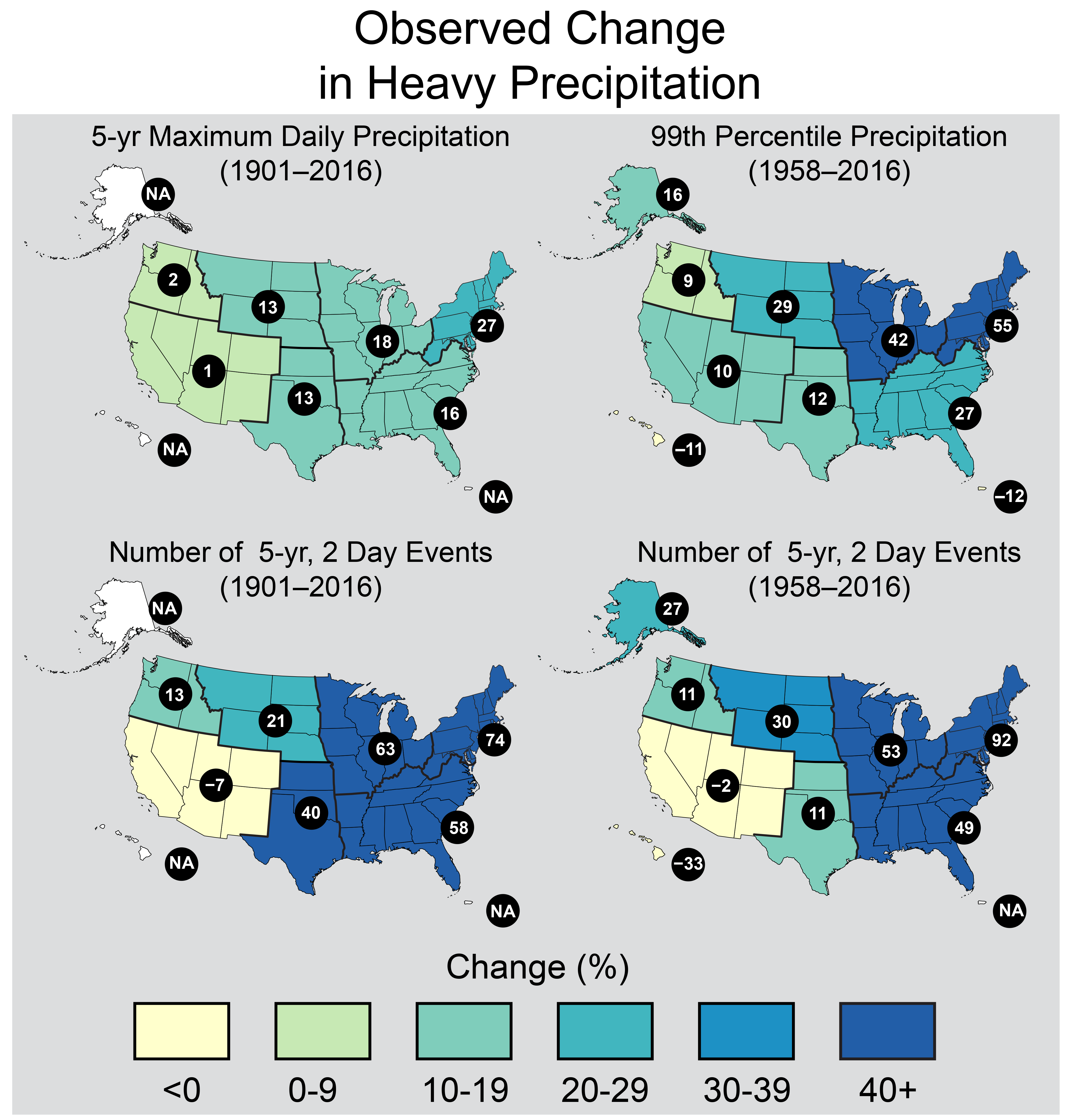 Record-Setting Precipitation Leaves U S  Soils Soggy